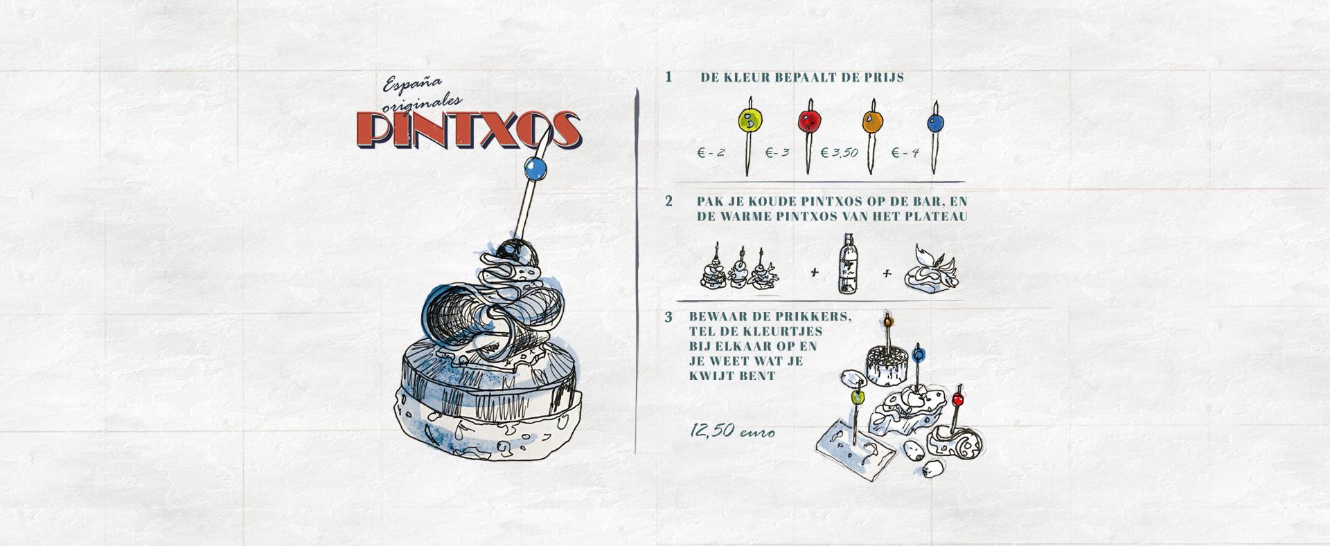 Pinxtos eten in Breda - El Patio