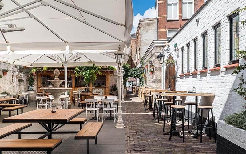Feestlocatie met binnentuin Breda